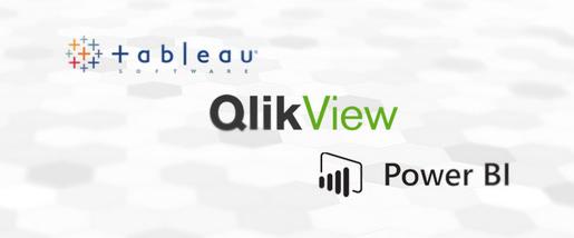 Tableau vs QlikView vs Microsoft Power BI - Clicou Vendas